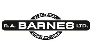 Logo: RA Barnes Electrical Contractors Ltd.