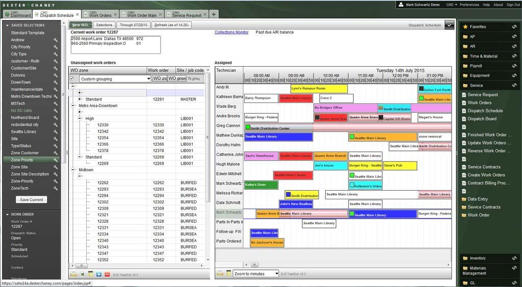 Screenshot - Work Order