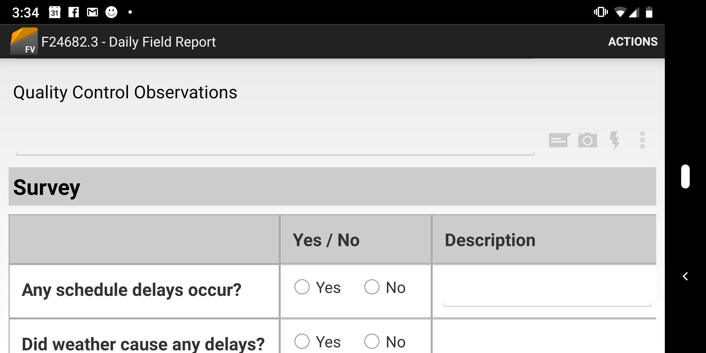 Screenshot - Custom report on ipad