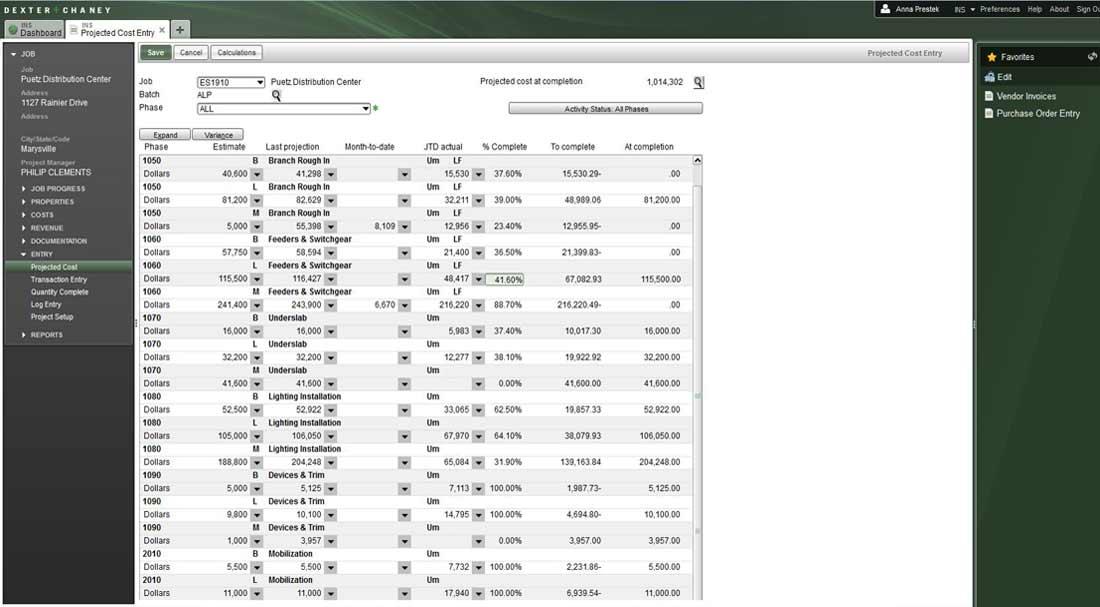 Screenshot - Project Management